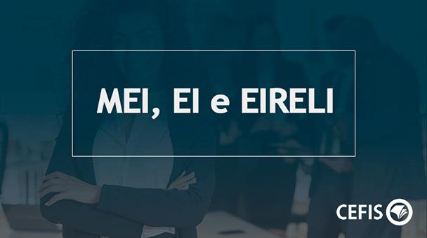 MEI, Empresário Individual e EIRELI: entenda as principais diferenças