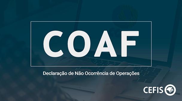 COAF – Declaração de Não Ocorrência de Operações
