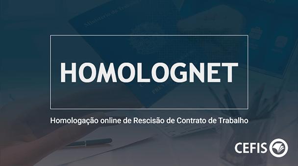 Homolognet - Homologação de Rescisão de Contrato de Trabalho
