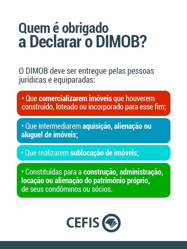 Quem é obrigado a declarar o DIMOB?