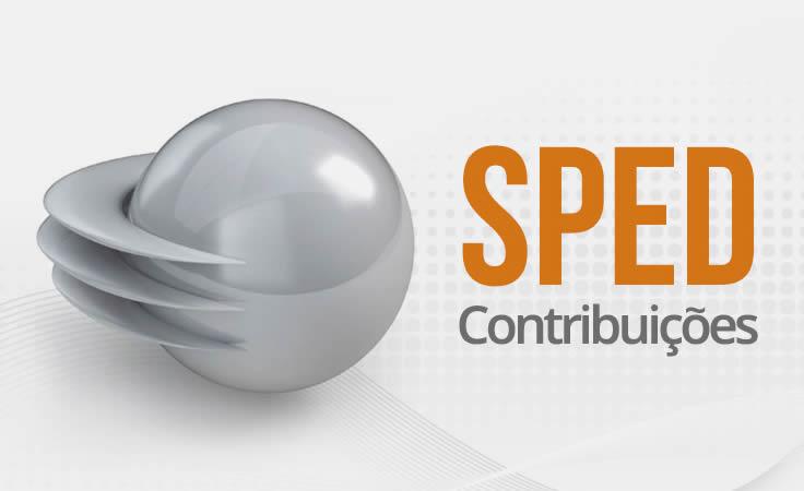 sped contribuies