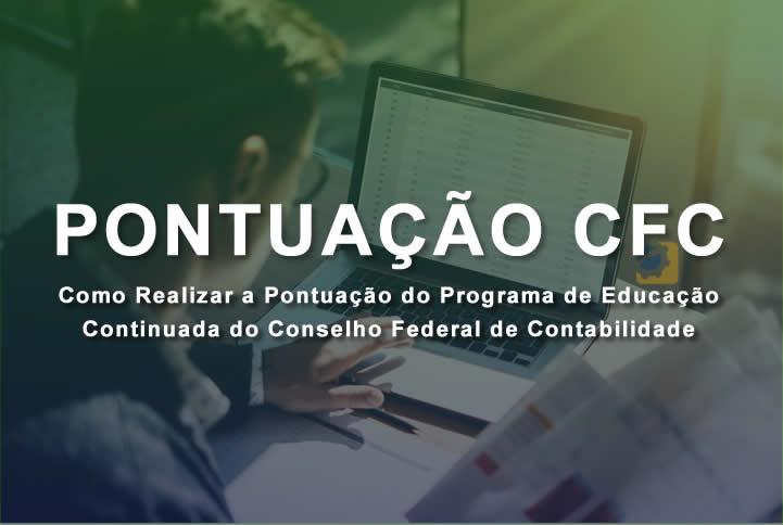 cursos pontos CFC - Contabilidade - Educação Continuada