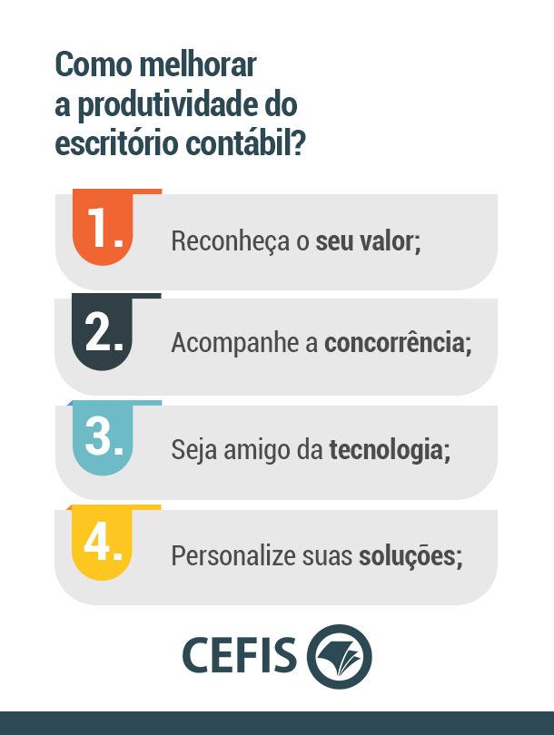 Como melhorar a produtividade do escritório contábil?