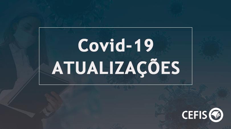 Covid-19 - atualizações